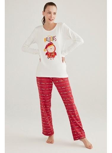 Penti Melodies Termal Pijama Takımı Renkli